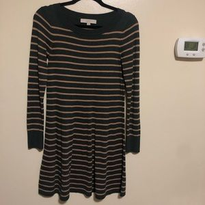 LOFT light sweater dress. XS. Gently worn.